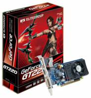 Видеокарта ECS GeForce GT 220 (625МГц, GDDR2 1024Мб 1000МГц 128 бит)