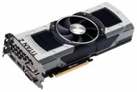 Видеокарта EVGA GeForce GTX TITAN Z (732МГц, GDDR5 12288Мб 70000МГц 768 бит)
