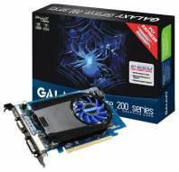 Видеокарта Galaxy GeForce GT 220 (625МГц, GDDR3 512Мб 1600МГц 128 бит)