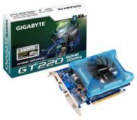 Видеокарта GIGABYTE GeForce GT 220 (680МГц, GDDR3 512Мб 2000МГц 128 бит)
