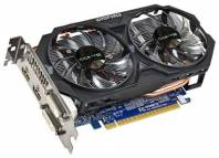 Видеокарта GIGABYTE GeForce GTX 750 Ti (1033МГц, GDDR5 2048Мб 5400МГц 128 бит)