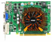 Видеокарта MSI GeForce GT 220 (625МГц, GDDR2 512Мб 810МГц 128 бит)