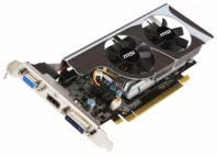 Видеокарта MSI GeForce GT 630 (810МГц, GDDR3 1024Мб 1333МГц 128 бит)