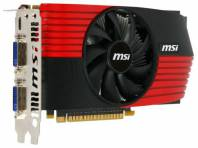 Видеокарта MSI GeForce GTS 450 (783МГц, GDDR5 1024Мб 3608МГц 128 бит)