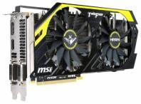 Видеокарта MSI GeForce GTX 760 (1006МГц, GDDR5 2048Мб 6008МГц 256 бит)
