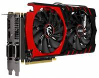 Видеокарта MSI GeForce GTX 970 (1140МГц, GDDR5 4096Мб 7010МГц 256 бит)