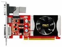 Видеокарта Palit GeForce GT 220 (506МГц, GDDR3 1024Мб 1070МГц 128 бит)