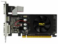 Видеокарта Palit GeForce GT 610 (810МГц, GDDR3 1024Мб 1070МГц 64 бит)