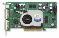 Видеокарта PNY Quadro FX 1100 (425МГц, GDDR 128Мб 650МГц 128 бит)