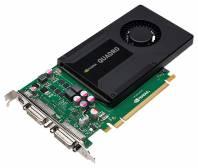 Видеокарта PNY Quadro K2000D (800МГц, GDDR5 2048Мб 4000МГц 128 бит)