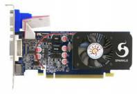 Видеокарта Sparkle GeForce GT 220 (625МГц, GDDR3 1024Мб 1580МГц 128 бит)