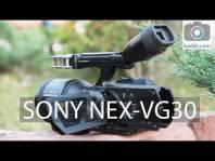 Embedded thumbnail for Sony NEX-VG30 - Обзор Видеокамеры со Сменной Оптикой и APS-C сенсором