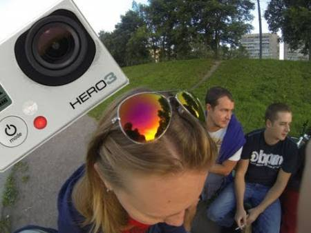 Embedded thumbnail for Обзор видеокамеры Gopro Hero 3 black edition