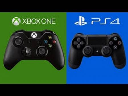Embedded thumbnail for Битва игровых приставок - PS4 против Xbox ONE