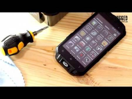 Embedded thumbnail for Обзор защищенного телефона Knight XV