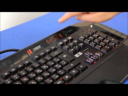 Embedded thumbnail for Обзор игровой клавиатуры Cyborg V7