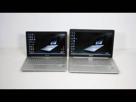 Embedded thumbnail for Видео обзор ноутбуков Asus N550JV и N750JV