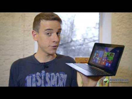 Embedded thumbnail for Обзор планшета-ноутбука-трансформера Asus Transformer Book T100