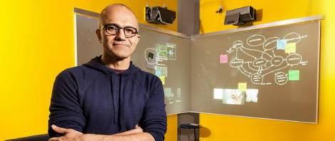 Новым гендиректором Microsoft стал Сатья Наделла