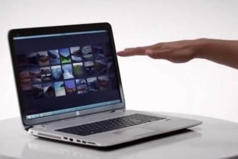 НР представила компьютер, управляемый с помощью жестов