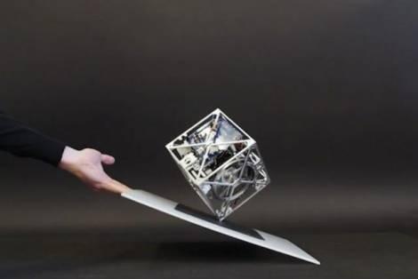 Изготовлен самостоятельно передвигающийся роботизированный куб