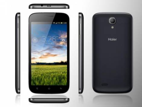 Двухсимочный смартфон Haier W757