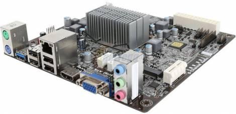 Материнская плата со встроенным процессором