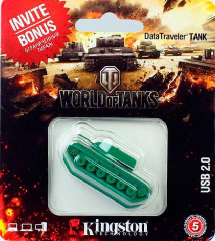Обзор флешки для фанатов и не только -  USB-Flash Kingston Data Treveler World of Tanks Edition
