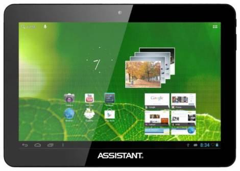 Планшет Assistant AP-104 – мощное бюджетное устройство