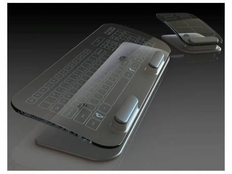Прозрачные мышь и клавиатура от Kickstarter