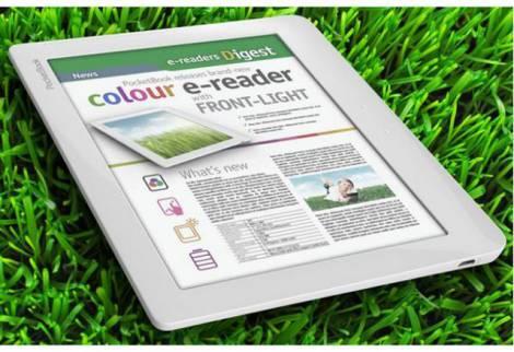 Ридер с цветным экраном нового поколения