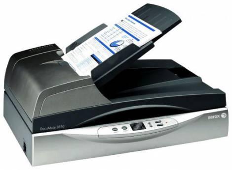 Сканер Xerox DocuMate 3640 – лучший помощник в офисе