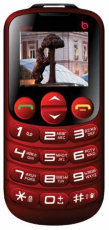Телефон с большими кнопками для пожилых людей BQ BQM-1860 Madrid