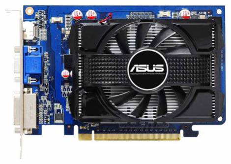 Видеокарта ASUS GeForce GT 240 (550МГц, GDDR3 1024Мб 1580МГц 128 бит)