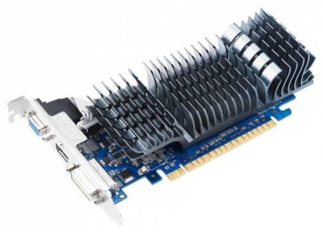 Видеокарта ASUS GeForce GT 520 (810МГц, GDDR3 1024Мб 1200МГц 64 бит)