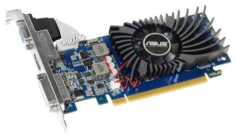 Видеокарта ASUS GeForce GT 610 (810МГц, GDDR3 1024Мб 1200МГц 64 бит)