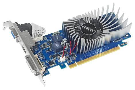 Видеокарта ASUS GeForce GT 620 (700МГц, GDDR3 1024Мб 1200МГц 64 бит)