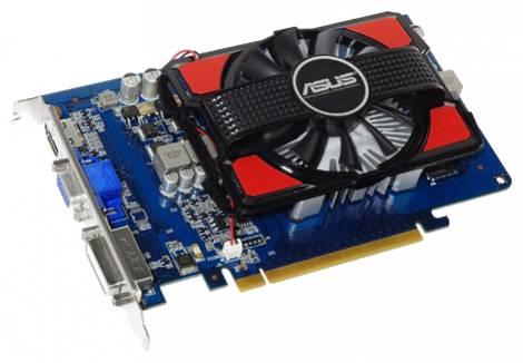 Видеокарта ASUS GeForce GT 630 (810МГц, GDDR3 2048Мб 1800МГц 128 бит)