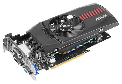Видеокарта ASUS GeForce GTX 650 (1058МГц, GDDR5 1024Мб 5000МГц 128 бит)