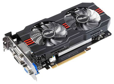 Видеокарта ASUS GeForce GTX 650 Ti (980МГц, GDDR5 2048Мб 5400МГц 128 бит)