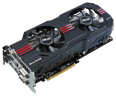 Видеокарта ASUS GeForce GTX 570 (742МГц, GDDR5 1280Мб 3800МГц 320 бит)