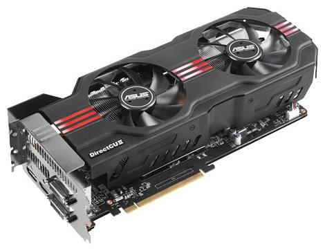 Видеокарта ASUS GeForce GTX 680 (1006МГц, GDDR5 2048Мб 6008МГц 256 бит)