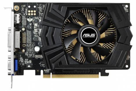 Видеокарта ASUS GeForce GTX 750 (1059МГц, GDDR5 2048Мб 5010МГц 128 бит)