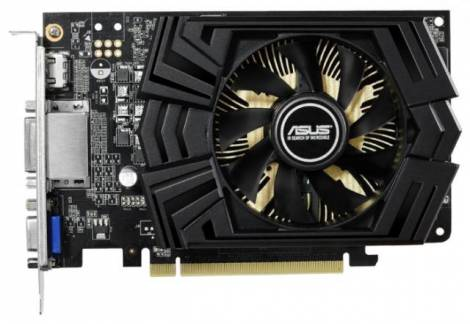 Видеокарта ASUS GeForce GTX 750 Ti (1020МГц, GDDR5 2048Мб 5400МГц 128 бит)