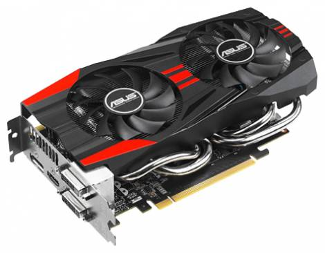 Видеокарта ASUS GeForce GTX 760 (1006МГц, GDDR5 2048Мб 6008МГц 256 бит)