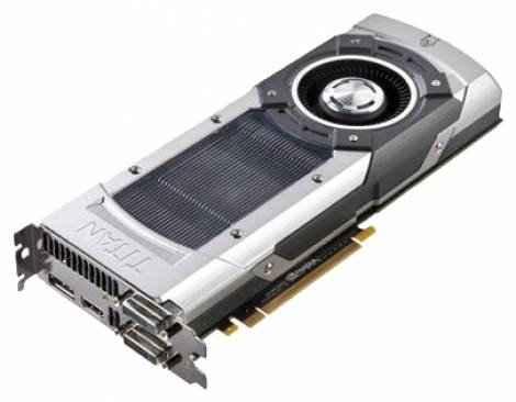 Видеокарта ASUS GeForce GTX TITAN (837МГц, GDDR5 6144Мб 6008МГц 384 бит)