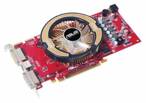 Видеокарта ASUS Radeon HD 3870 (775МГц, GDDR3 512Мб 1770МГц 256 бит)
