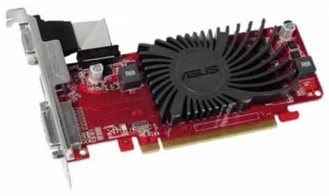 Видеокарта ASUS Radeon R5 230 (650МГц, GDDR3 2048Мб 1200МГц 64 бит)