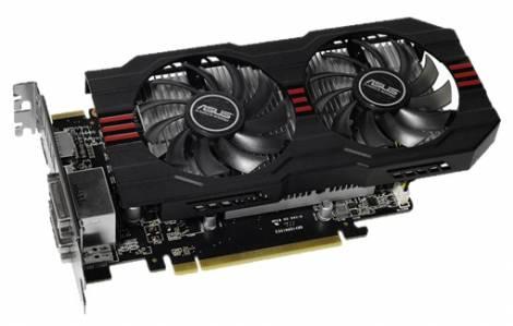 Видеокарта ASUS Radeon R7 260X (1075МГц, GDDR5 2048Мб 5000МГц 128 бит)