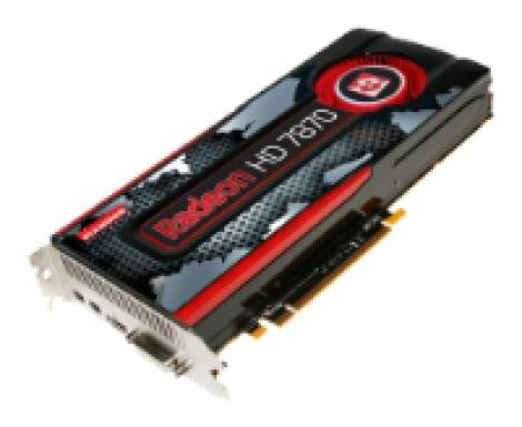 Видеокарта Diamond Radeon HD 7870 (1000МГц, GDDR5 2048Мб 4800МГц 256 бит)